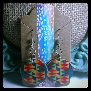 Jewelry - Geometric Earrings- Handmade